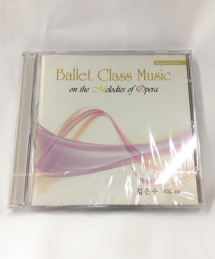 Ballet Class Music on the Melodies of Opera CD (vol.10)